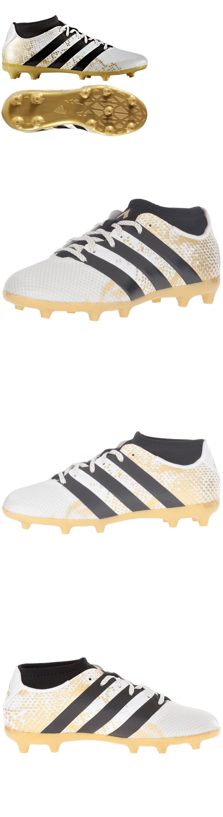 Youth 159177: Adidas Ace 16.3 Primemesh Youth Soccer Cleats Boys European Football Shoes White BUY IT NOW ONLY: $59.95