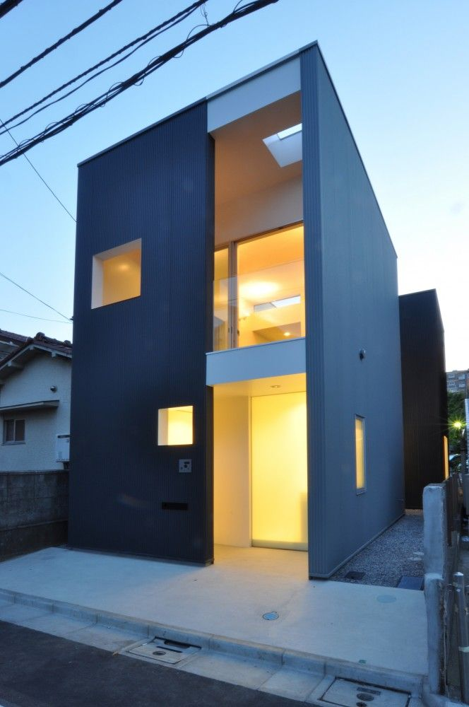 """LW House by Komada Architects' Office """"Location: Tokyo, Japan"""" 2010"""