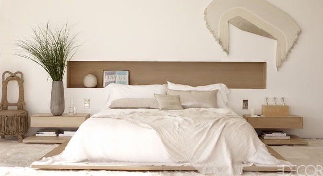 A Southampton, New York master bedroom.