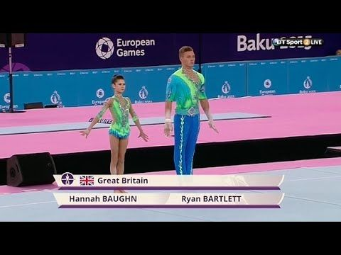 Enjoy Hannah Baughn and Ryan Bartlett's full performance for the All-around, Mixed Acrobatic final.