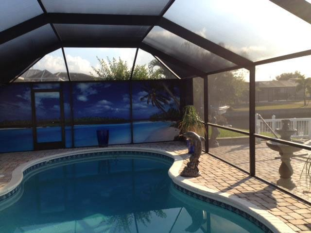 One Of The Easiest Ways To Rejuvenate Your Home Is By Adding One Of Fabri Tech Sunrooms Among The Many Benefits Of Owning Screen Enclosures Florida Pool Pool