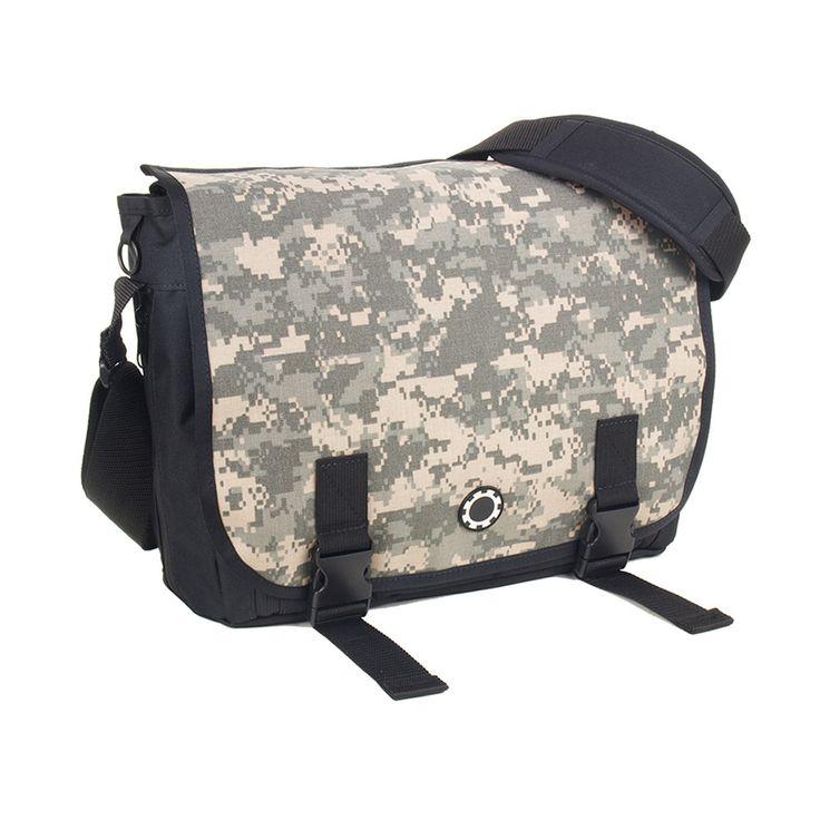 Messenger Diaper Bag - Camouflage