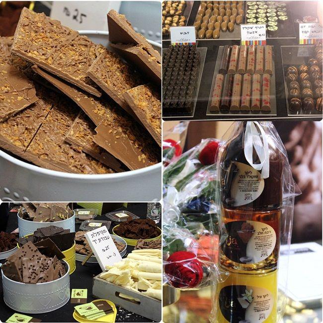 Chocolate from the Chocolate fair in Tel Aviv a few weeks ago