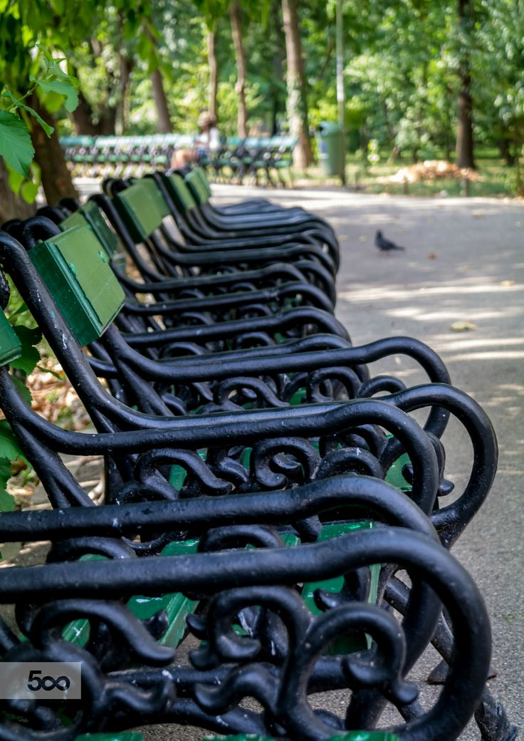 Park Bench by Marius Ivan on 500px