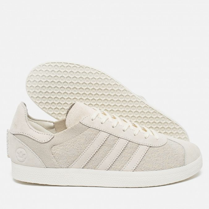adidas Originals x Wings + Horns Gazelle OG Off White. Article: BB3750. Year