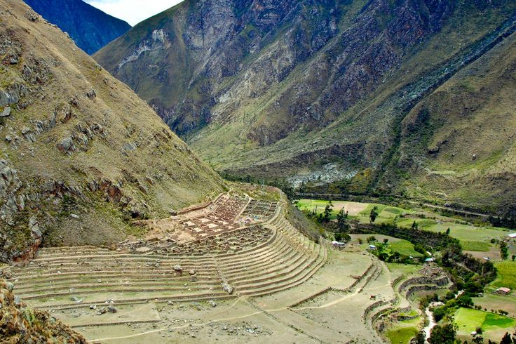 Llaqtapata Ruins on the Inca Trail near Cusco, Peru