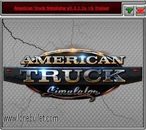 Hello American Truck Simulator lover! Download the American Truck Simulator Steam V1.2.1.1s  6 Trainer for free at LoneBullet - http://www.lonebullet.com/trainers/download-american-truck-simulator-steam-v1211s-6-trainer-free-9328.htm without breaking a sweat!