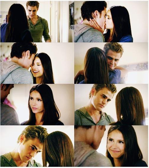 Stefan & Elena. The Vampire Diaries