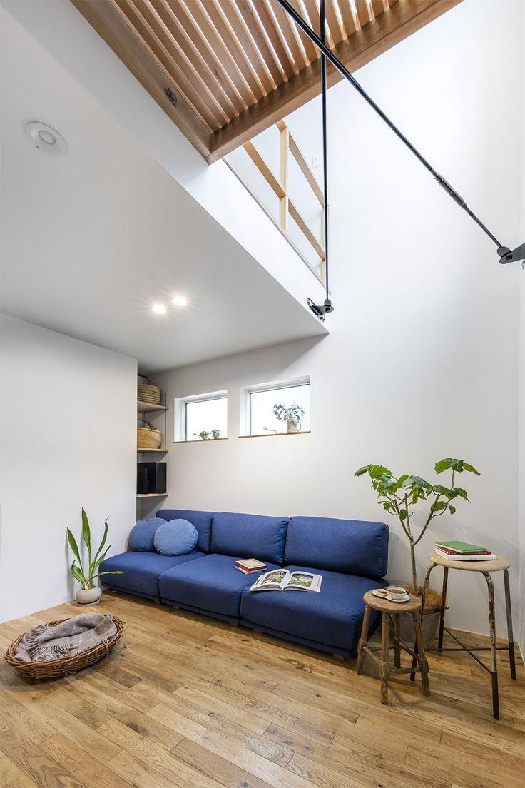 限られた空間を生かしたカフェ併用住宅   重量木骨の家