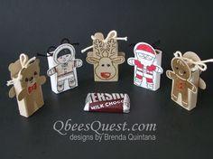 Qbee's Quest: Cookie Cutter Christmas Slider Treats