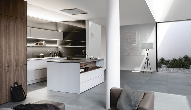 Spectacular SieMatic PURE S SE Concentrating on the essential reveals the value of the materials A continuous veneer pattern with particularly expressiv u