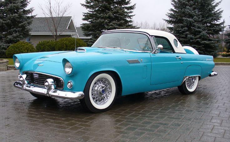 thunderbird | 1956 Ford Thunderbird car picture, car wallpaper which help you to ...