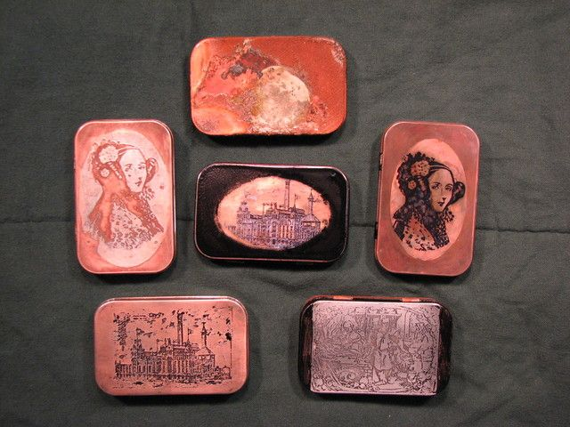 75 best diy electroplating electroforming images on pinterest etching electroplating altoid tins solutioingenieria Gallery