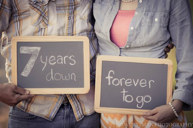 7 Year Wedding Anniversary Gifts: 25+ Best Ideas About 7 Year Anniversary On Pinterest
