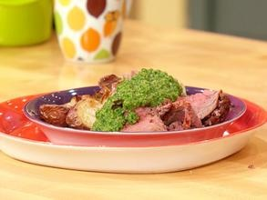 Roast lamb, Salsa verde and Lamb on Pinterest