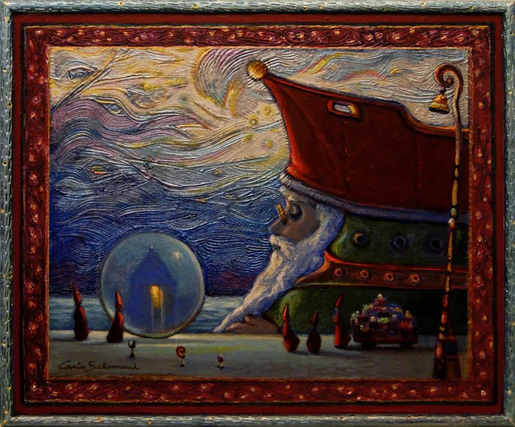 View THE SHIP OF CHRISTMAS GIFTS by carlo salomoni. Browse more art for sale at great prices. New art added daily. Buy original art direct from international artists. Shop now