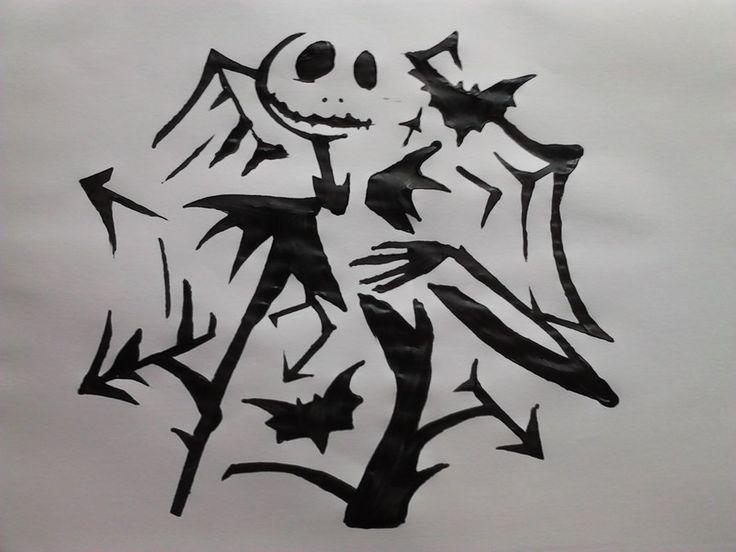 70 best pumpkin patterns images on pinterest halloween for Pumpkin carving patterns printable jack skellington