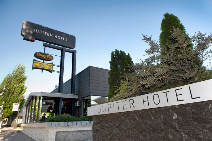 Jupiter Hotel - Portland, OR PDX Brews and Booze Experience -  Mark's bday maybe??????