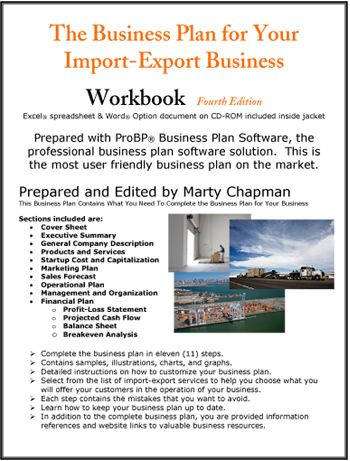 Business plan import export