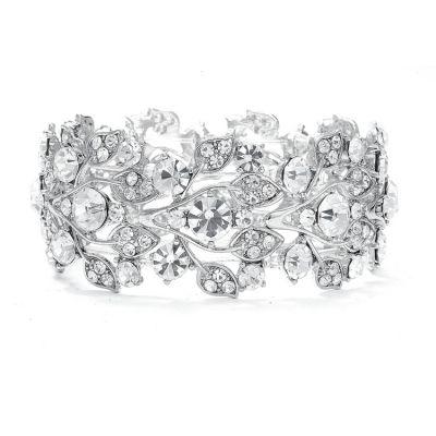 Ariel Bridal Bracelet : Austrian Crystal Vintage-Vine   www.glamadonnashop.com.au