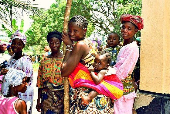 Ebola survivors in West Africa