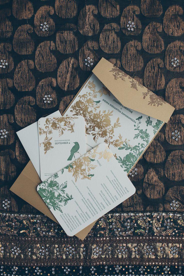 94 best Wedding Invitations images on Pinterest   Floral patterns ...