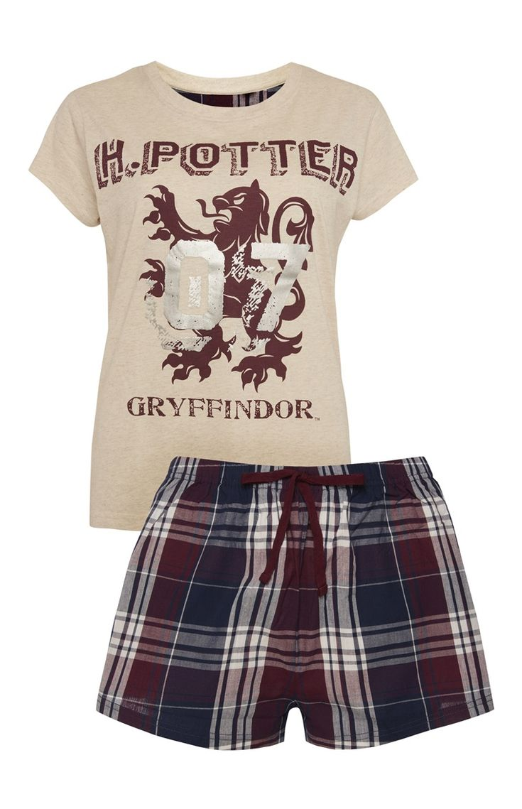 Primark - Harry Potter T-Shirt Short PJ Set