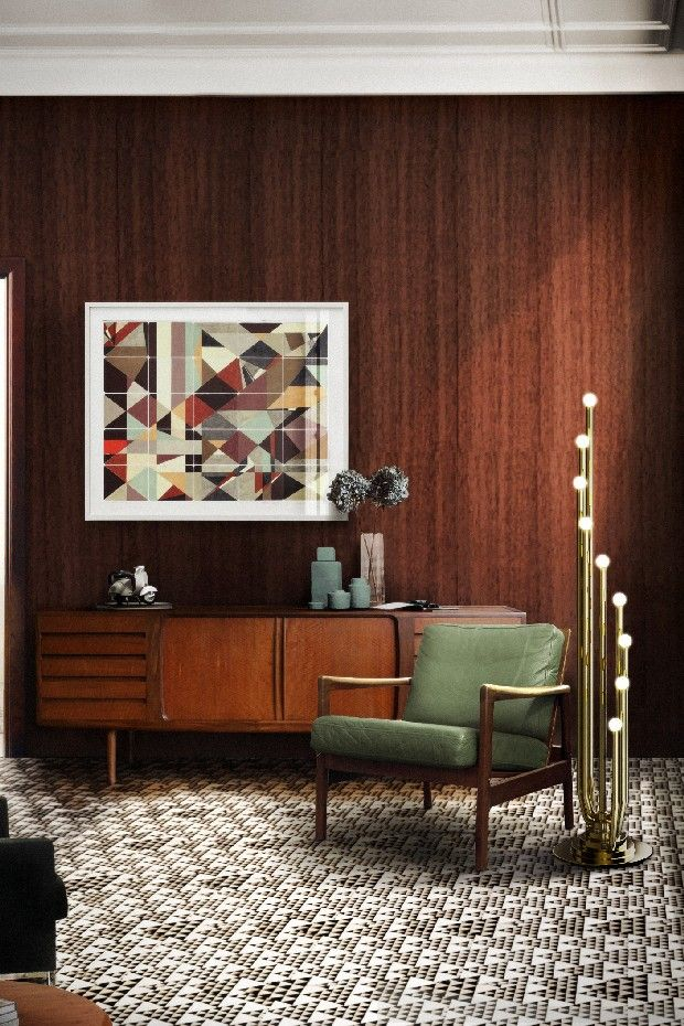 1353 best Mid century interiors 50s 60s images on Pinterest