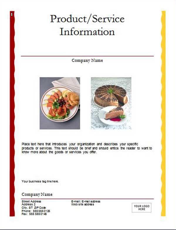 Microsoft Word Advertisement Template - Yahoo Image Search Results - microsoft word restaurant menu template