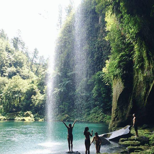 Omanawa Falls, Tauranga Photo by: @bellakingi #destinationnz to be featured ✌