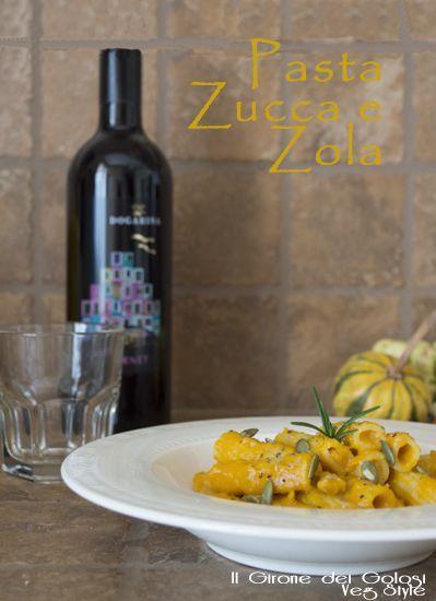 Pasta Zucca e Zola pin