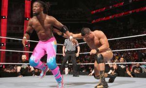 Kofi Kingston Defeat Alberto Del Rio-WWE Raw 29 March, 2016
