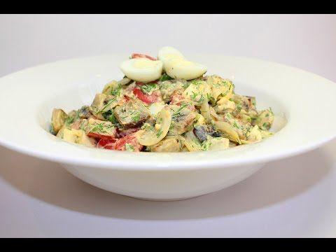 «Баклажановый» салат » Рататуй — готовить может каждый