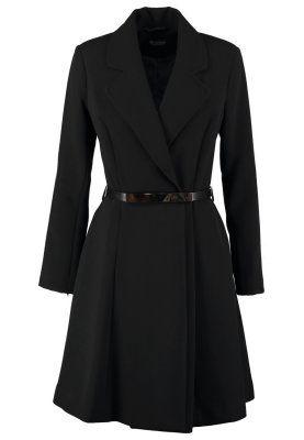 Wollmantel / klassischer Mantel - black
