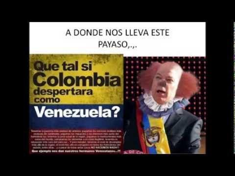 LA IMAGEN DE HOY DEL  PRESIDENTE SANTOS  COLOMBIANOS