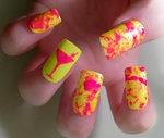 Neon Martini Nails by KayleighOC on deviantART