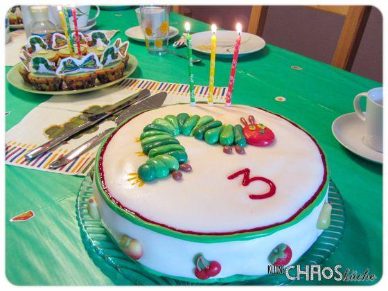 Raupe Nimmersatt Kuchen