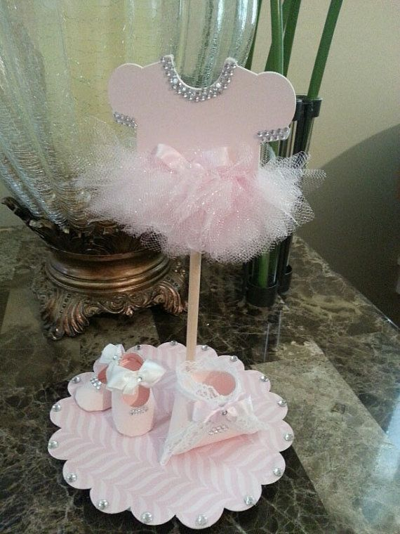 Onesie TuTu Cake Topper / TuTu Baby Shower / By TheCarriageShoppe