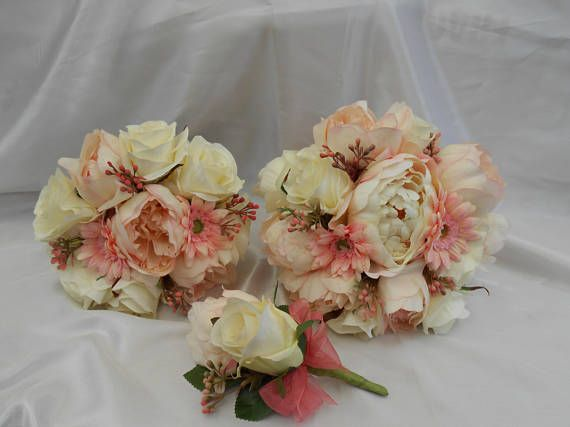 wedding flowers silk wedding package bridal package brides