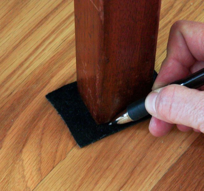 Quick DIY Glides for Sofa, Chair or Table by Upholstery Club's Shelly Leer
