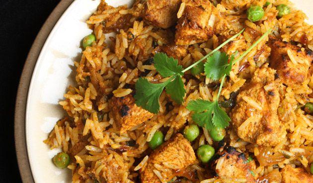 Indiase kip met koriander - landidee