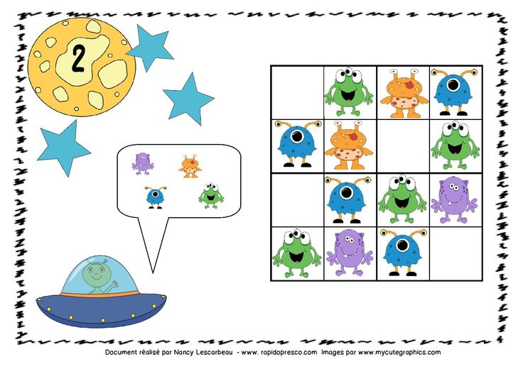 Sudoku de l'espace – Rapido-Présco