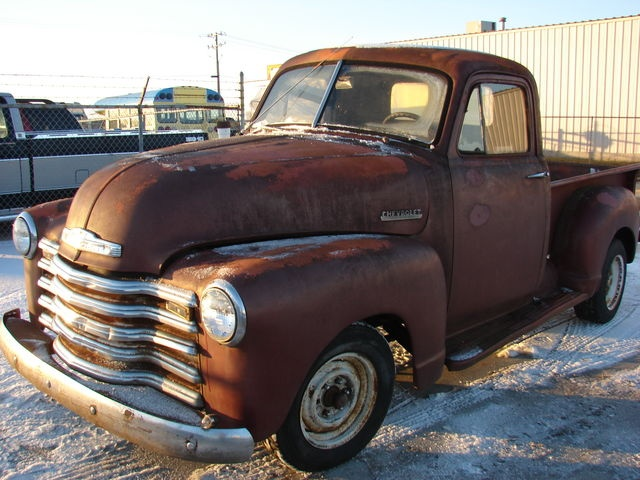 1953 Chevy Pickups for Sale | 1953 Chevy Truck~Original~3100 Series~Six Cylinder~Steel Body~Project ...