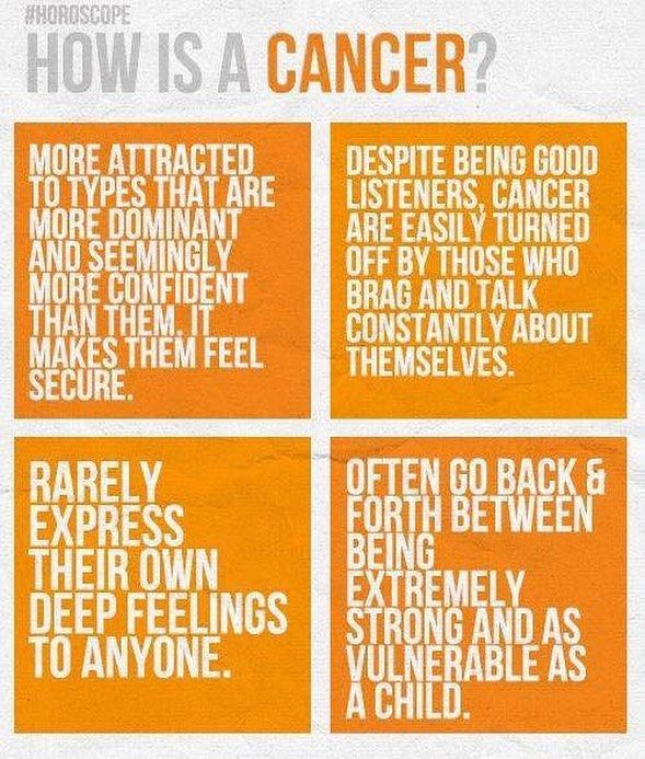 How's a Cancer?