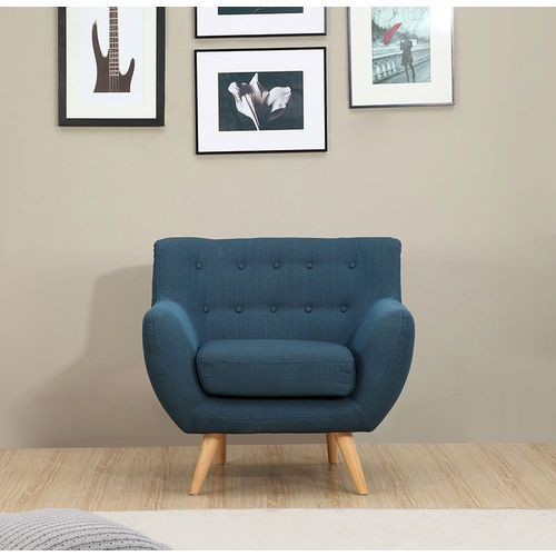 Sixties Armchair - Azure Blue