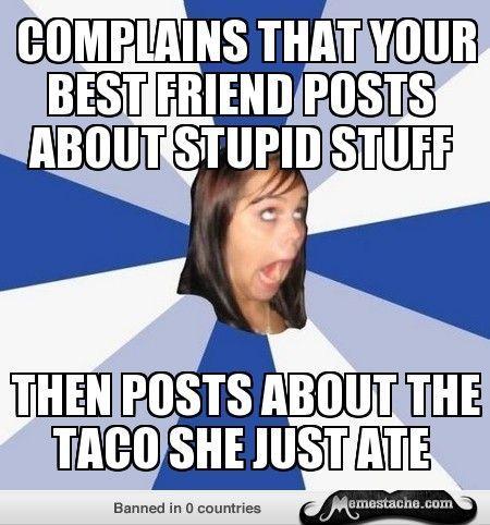 Annoying Facebook Girl Meme Breakup, Girl memes