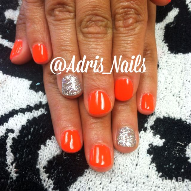 Spring Summer gel nails!  Follow me on Instagram:) @Adris_Nails