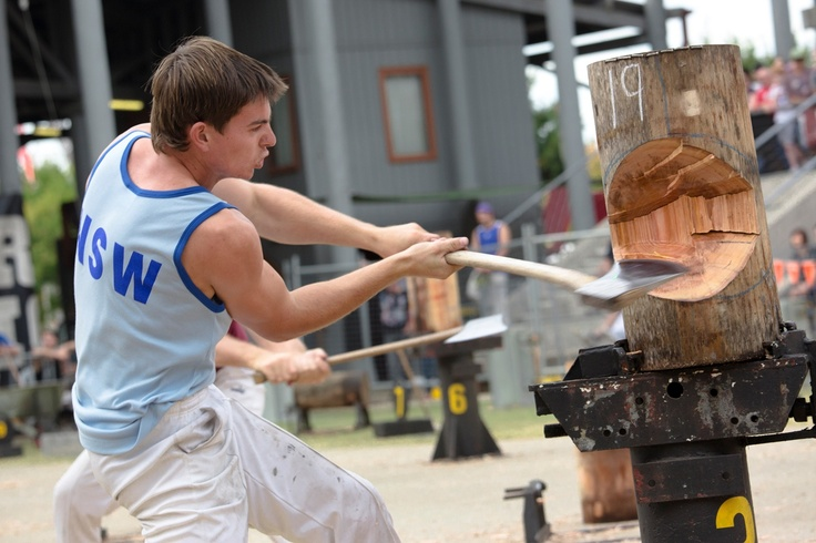 Wood chopping at the 2012 Sydney Royal Easter Show