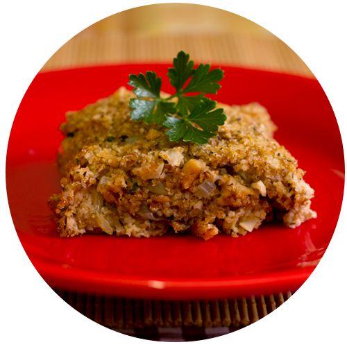 Quibe de Proteína de Soja e Aveia - Presunto Vegetariano