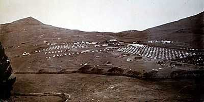 Boer Camp on Deadwood Plain [Saint Helena Island Info:Boer Prisoners (1900-1902)]